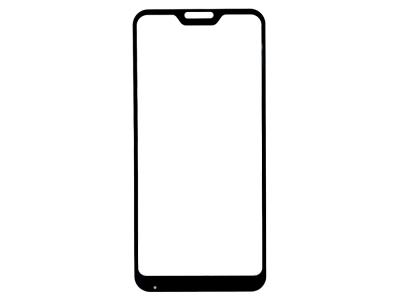 Стъклен протектор 5D Full Glue за Xiaomi MI A2 Lite / Redmi 6 Pro, Черен