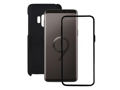360 Градуса Калъф за Samsung Galaxy S9 (G960) , Черен