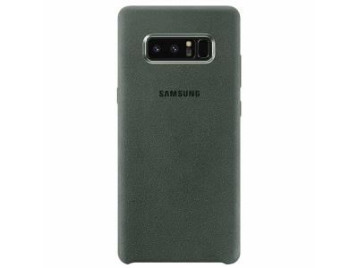 Оригинален Гръб Samsung Alcantera за Samsung Galaxy Note 8 , Зелен