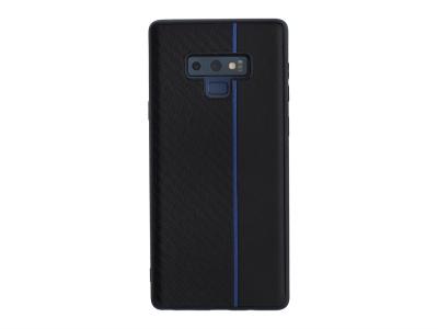 Удароустойчив гръб Moto Carbon за Samsung Galaxy Note 9 (N960), Черен/ Син