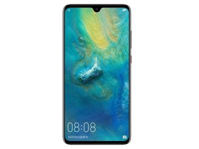 Стъклен гръб Glass NXE LELCA за Huawei Mate 20 Pro, Черен