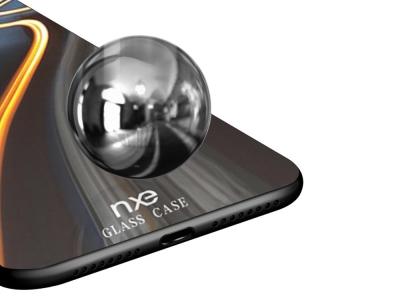 Стъклен гръб Glass NXE за Huawei Mate 20 Pro , Нощен път