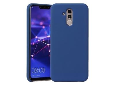 Силиконов Гръб HOWMAK за Huawei Mate 20 Lite / Maimang 7 , Тъмно син
