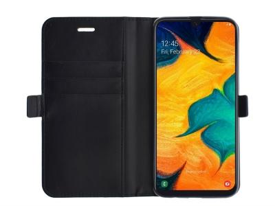 Калъф Тефтер за Samsung Galaxy M30, Черен