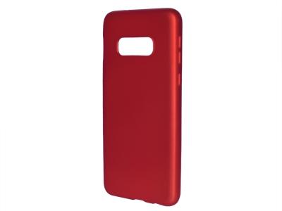 Силиконов Гръб Level - Samsung Galaxy S10e, Червен