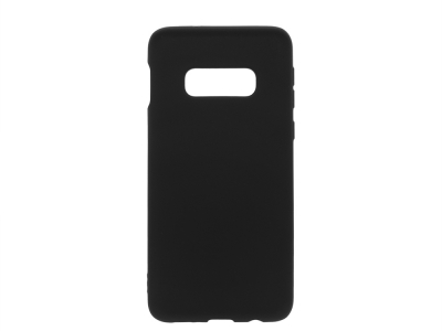Силиконов Гръб Level за Samsung Galaxy S10e, Черен