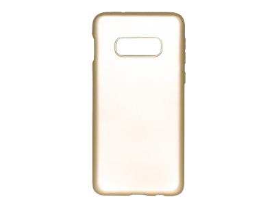 Силиконов Гръб Level за Samsung Galaxy S10e , Златист