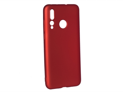 Силиконов Гръб Level за Huawei Nova 4, Червен