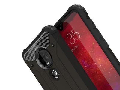 Удароустойчив гръб Armor за Motorola Moto G7 / G7 Plus, Черен