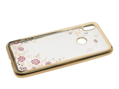 Силиконов гръб Forcell Diamond за Xiaomi Redmi Note 7 , Златист