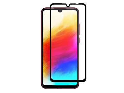 Стъклен Протектор 5D Full Glue за Xiaomi Redmi Note 7, Черен