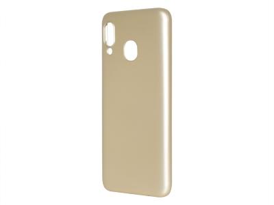 Силиконов Гръб Level за Samsung Galaxy A30/ A20, Златист