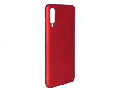 Силиконов Гръб Level за Samsung Galaxy A70, Червен