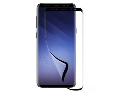 Удароустойчив Протектор 6D Nano Full за Samsung Galaxy S9 Plus, Черен