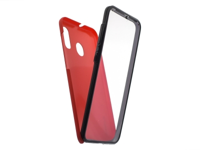 360 Градуса калъф за Samsung Galaxy A30/ A20, Червен