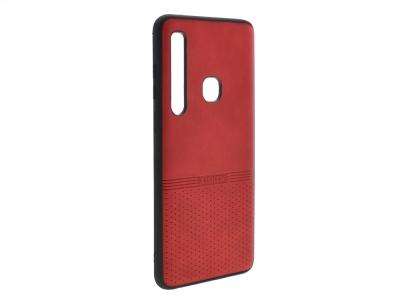 Силиконов гръб Lishen за Samsung Galaxy A9 2018, Червен