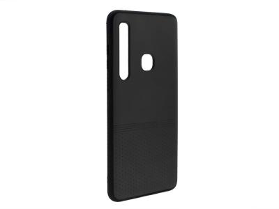 Силиконов гръб Lishen за Samsung Galaxy A9 2018, Черен