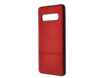Силиконов гръб Lishen за Samsung Galaxy S10, Червен