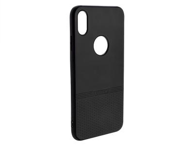 Силиконов гръб Lishen за iPhone XS Max (6.5), Черен