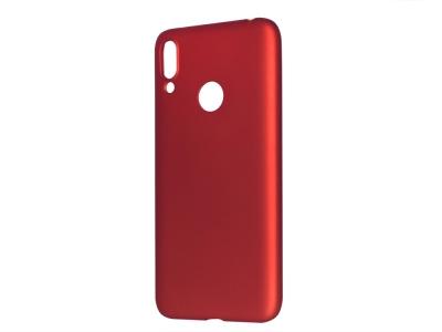Силиконов Гръб Level за Huawei Y7 2019, Червен