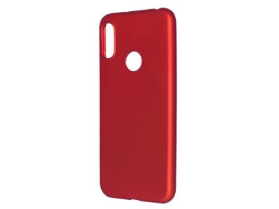 Силиконов Гръб Level за Huawei Y6 2019, Червен