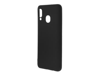 Силиконов Гръб Level за Samsung Galaxy A30/ A20, Черен