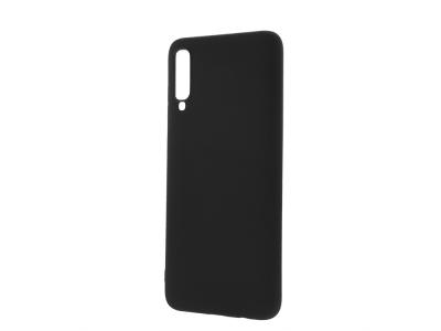 Силиконов Гръб Level за Samsung Galaxy A70, Черен