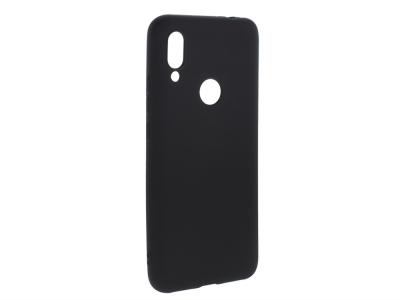 Силиконов Гръб Level за Xiaomi Redmi Note 7, Черен