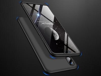 Ултра Тънък Пластмасов Калъф за Huawei Y9 2019, Черен