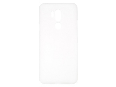 Силиконов Гръб Matte за LG G7 ThinQ, Прозрачен