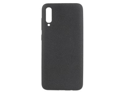 Силиконов Гръб Matte за Samsung Galaxy A70, Черен