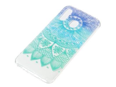 Силиконов Гръб за Samsung Galaxy A40, Цветна Мандала