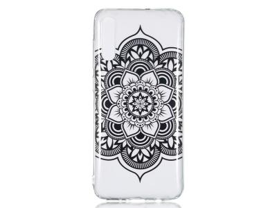 Силиконов Гръб за Samsung Galaxy A70 , Цвете