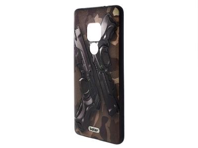 Пластмасов гръб Boter за Huawei Mate 20, Пистолети