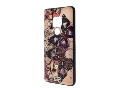 Пластмасов гръб Boter за Huawei Mate 20, Пеперуди