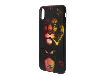 Пластмасов гръб Boter за iPhone XS Max (6.5), Лъв