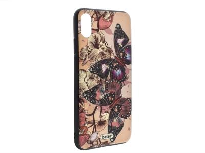 Пластмасов гръб Boter за iPhone XS Max (6.5), Пеперуди