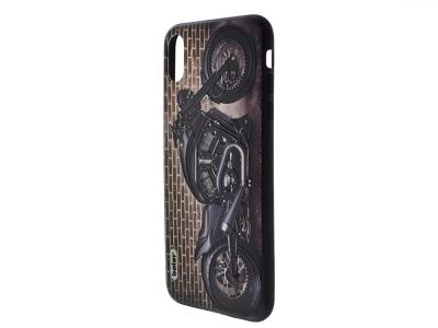 Пластмасов гръб Boter за iPhone XS Max (6.5), Мотоциклетист