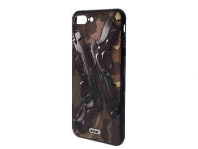 Пластмасов гръб Boter за iPhone 7 Plus /  iPhone 8 Plus, Пистолети