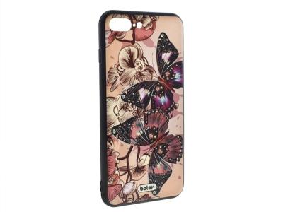 Пластмасов гръб Boter за iPhone 7 Plus /  iPhone 8 Plus, Пеперуди