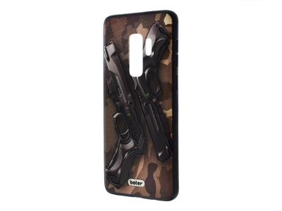 Пластмасов гръб Boter за Samsung Galaxy S9 Plus G965, Пистолети