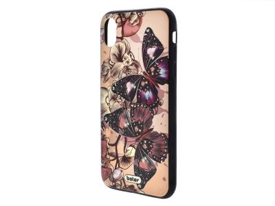 Пластмасов гръб Boter за iPhone XR (6.1), Пеперуди