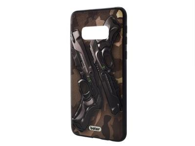 Пластмасов гръб Boter за Samsung Galaxy S10e, Пистолети