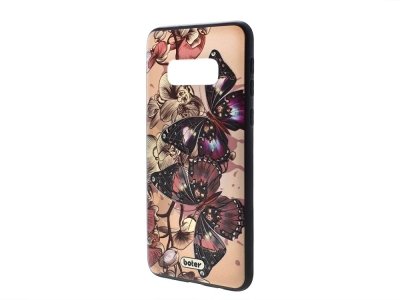 Пластмасов гръб Boter за Samsung Galaxy S10e, Пеперуди