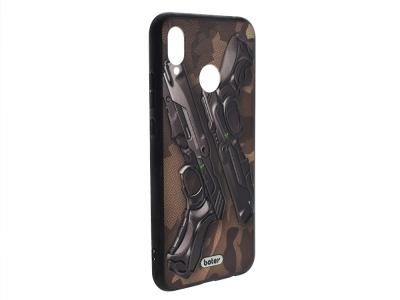 Пластмасов гръб Boter за Huawei P20 Lite ,Пистолети