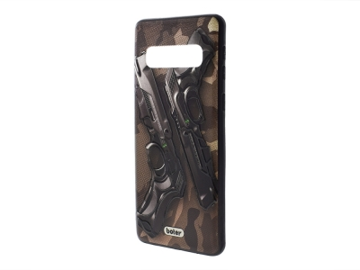Пластмасов гръб Boter за Samsung Galaxy S10 G973, Пистолети