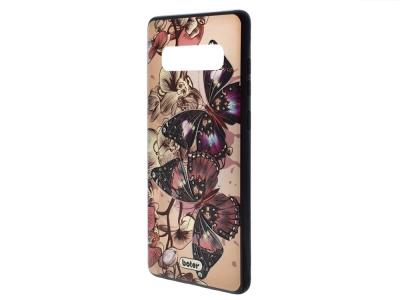 Пластмасов гръб Boter за Samsung Galaxy S10 G973, Пеперуди
