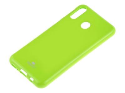 Силиконов гръб Jelly Mercury за Samsung Galaxy A40, Зелен