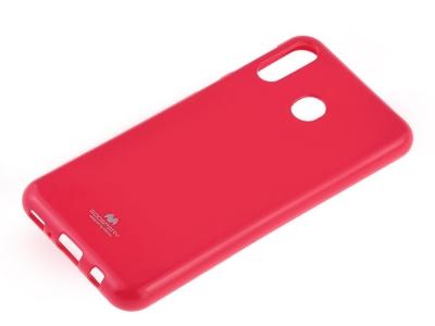 Силиконов гръб Jelly Mercury за Samsung Galaxy A40, Тъмно розов