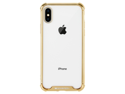 Силиконов Гръб Mercury WONDER за iPhone X / XS, Златист